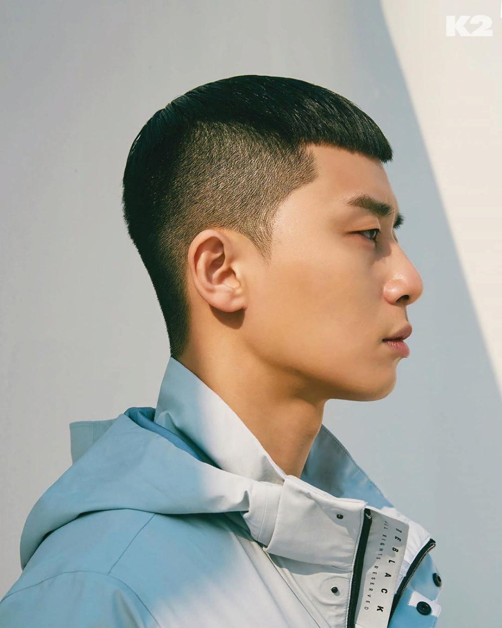 Park Seo Joon Itaewon Haircut - Korean Idol