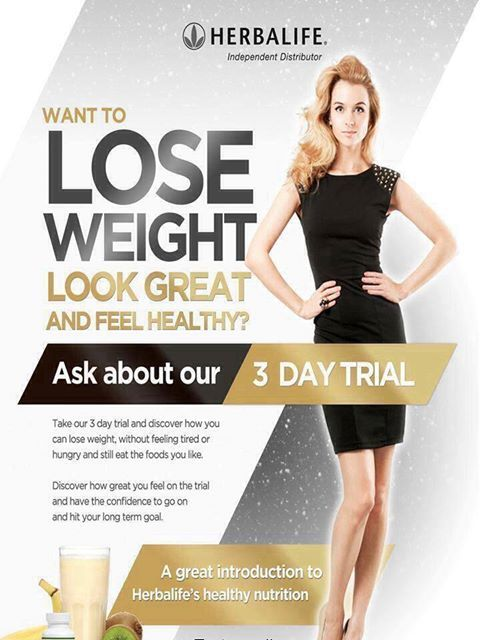 flyer herbalife weight loss