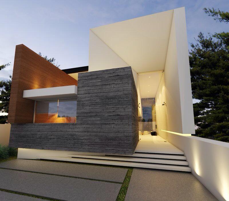 Guadalajara jalisco fachadas contemporaneo creato arquitectos architecture interior in 2019 - Arquitectos casas modernas ...