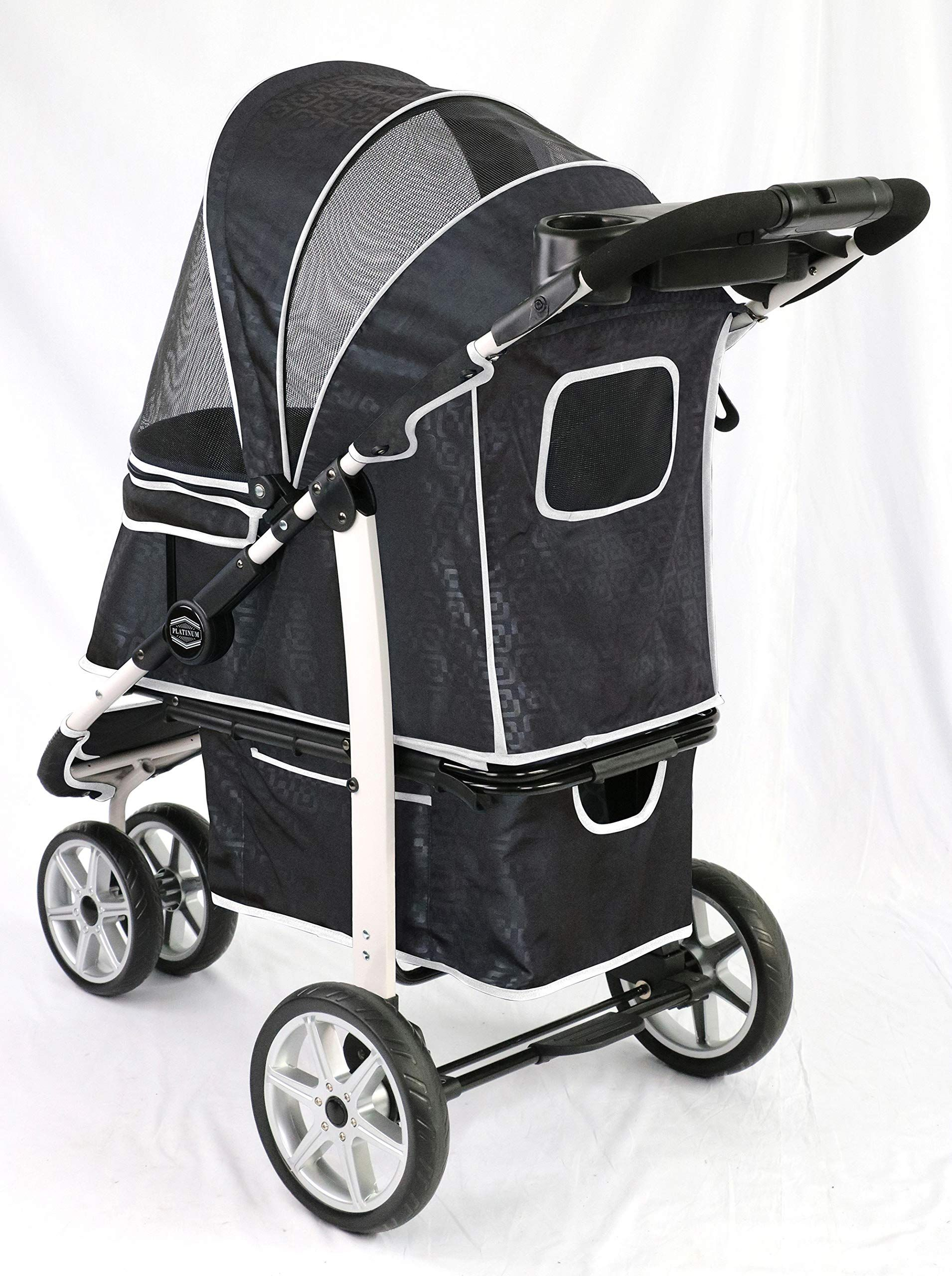 Gen7Pets Premium Monaco Stroller for Dogs and Cats up to