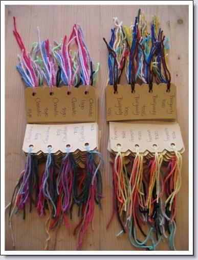 Staaltjes van style craft Special DK .alle 53 staaltjes ontvangen kost  € 4,50