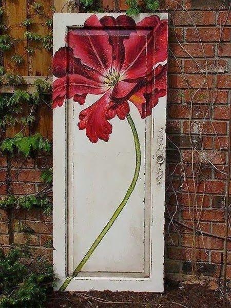 Junque Chic: More Old Cupboard Doors