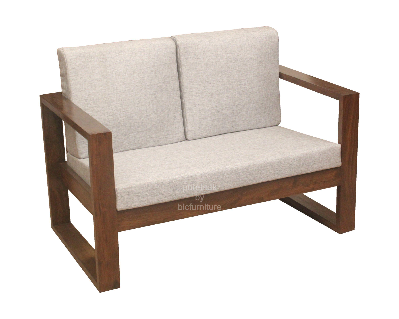 Wooden Sofa Set In Simple Design (WS 67) Details BIC