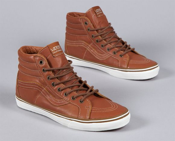 Vans California Sk8-Hi Reissue Gingerbread Whisper White  6fad110438