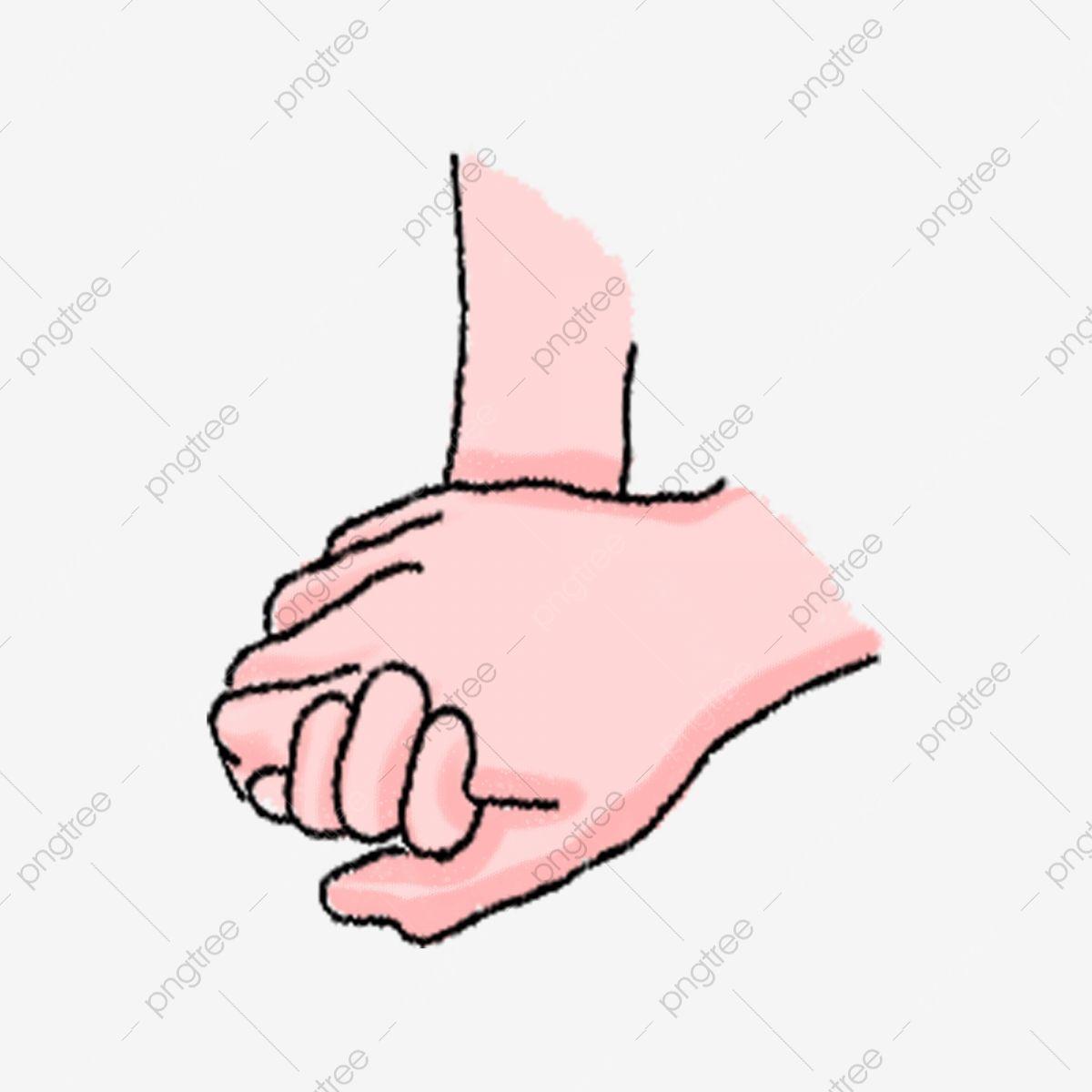 يد تمسك بيد مرسومة باليد التوضيح يدا كليبارت مقبض الجسم Png وملف Psd للتحميل مجانا Couple Holding Hands Hand Painted Hands