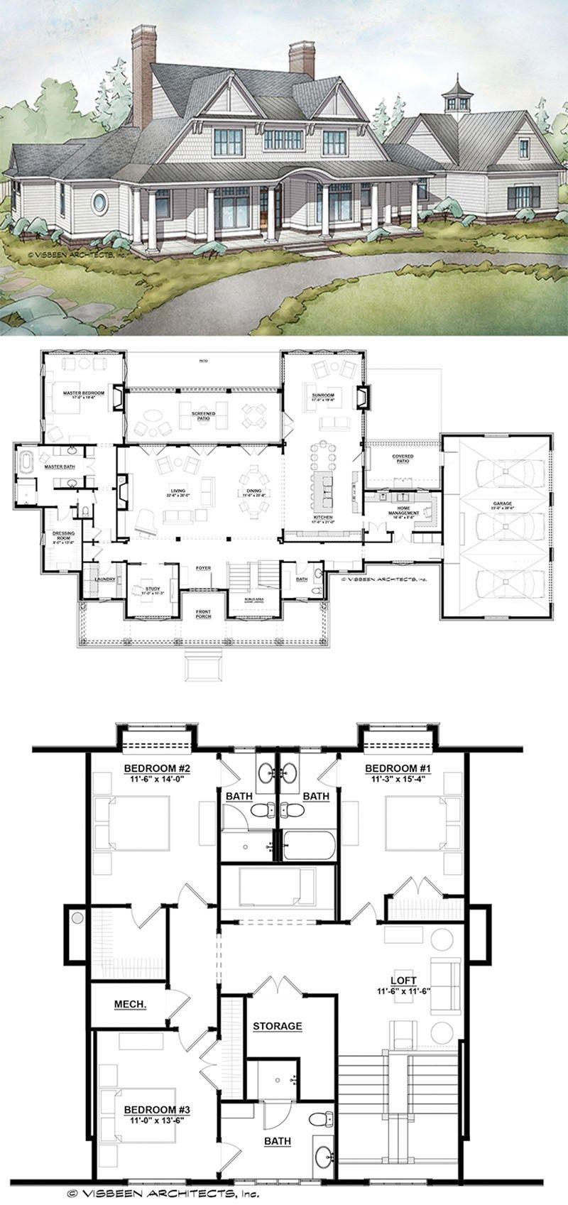 7 most popular farmhouse plans with pictures with images