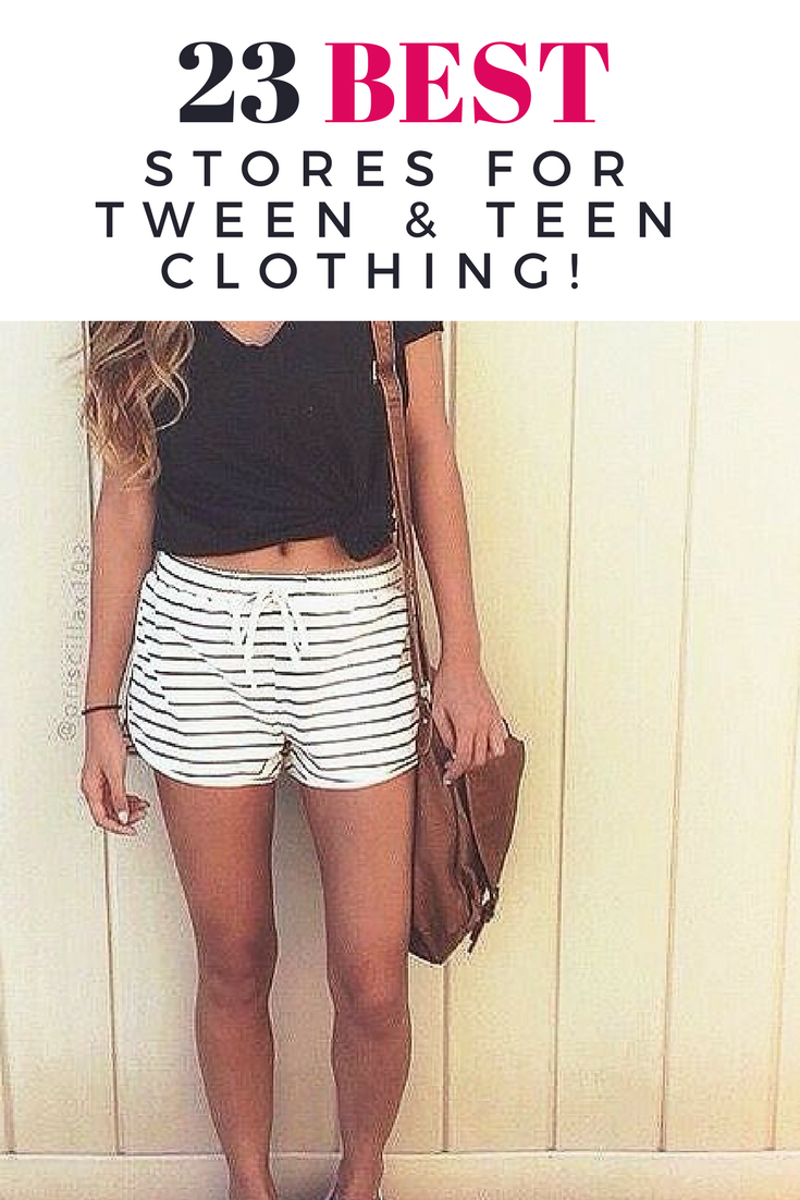 c0f9087e9c These are the best stores to shop for fashionable teen and tween clothing!   TweenFashionTrends