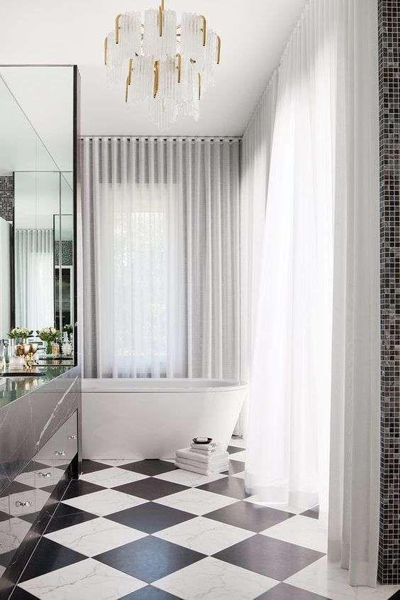 Bagno in stile liberty nel 2018 | Bagni - Bathrooms | Bagno, Stanza ...