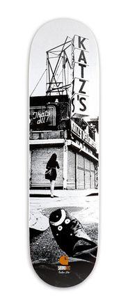 "Carhartt X 5Boro Boards - ""NYC"" (8,6"")"