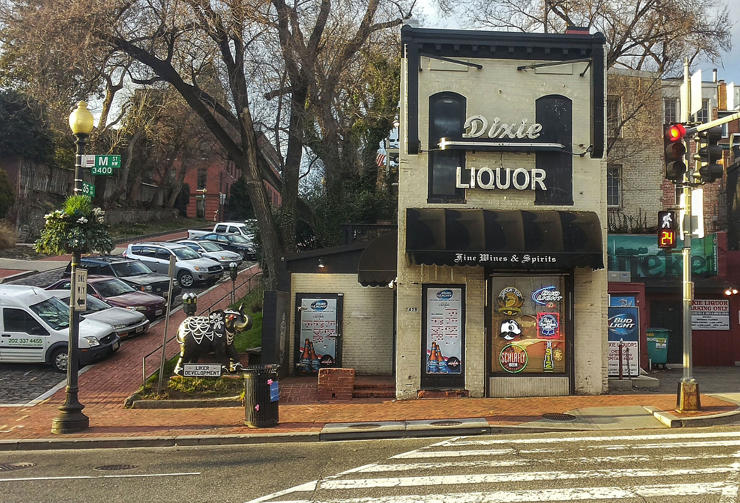 Pretty liquor store in Georgetown, Washington DC