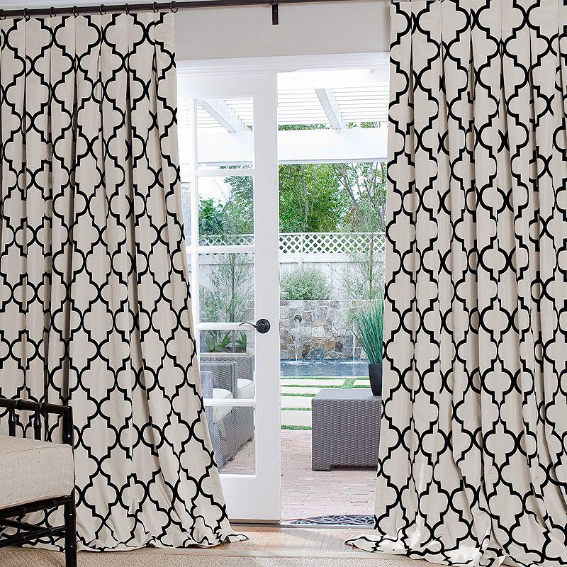 Geometric Custom Drapes Geometric Curtains Curtains Living Room