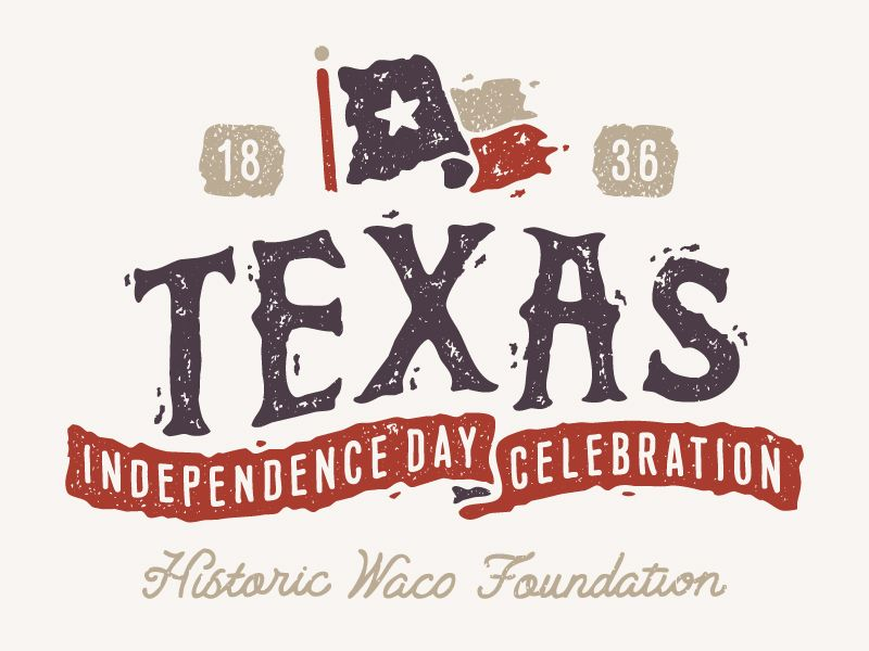 Texas Independence Day Celebration Letter types and Logos - celebration letter