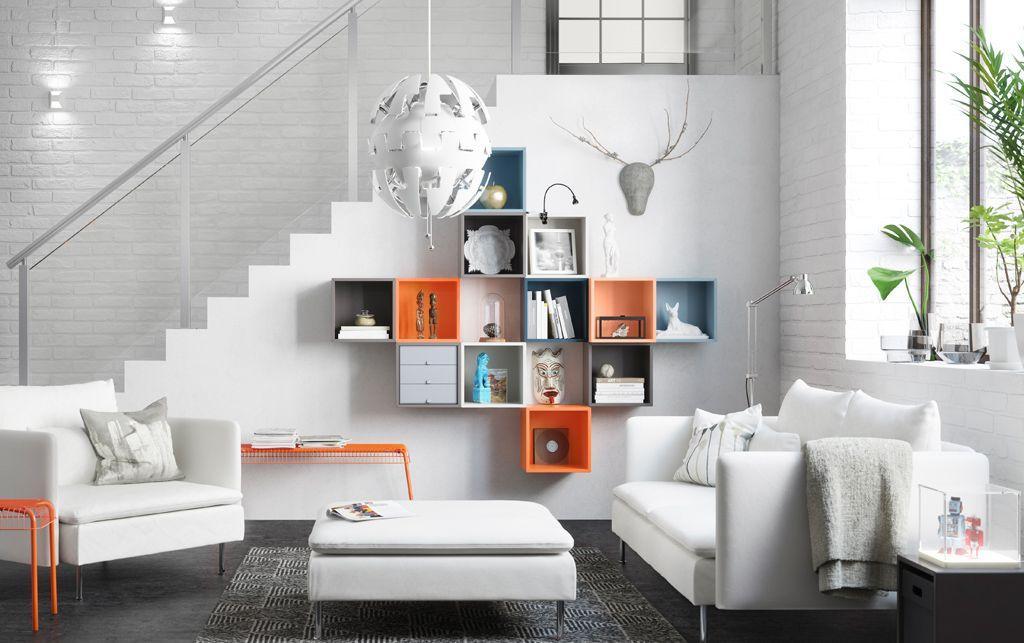 Bedrooms · White Living Room ...