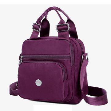 bc4a22198425 Waterproof Oxford Cloth Women Handbag Crossbody Bag Shoulder Bag ...