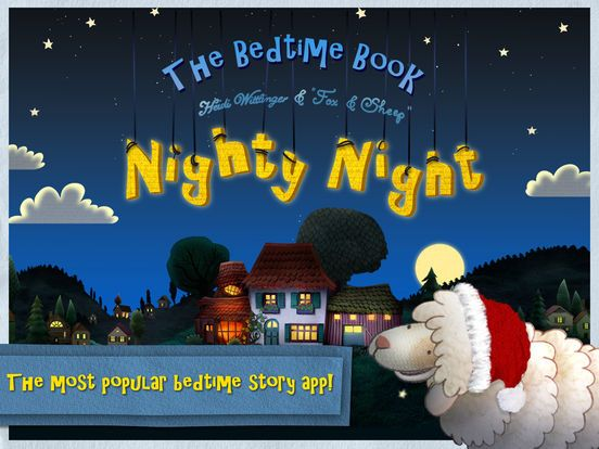 Nighty Night! The bedtime story app by Fox and Sheep