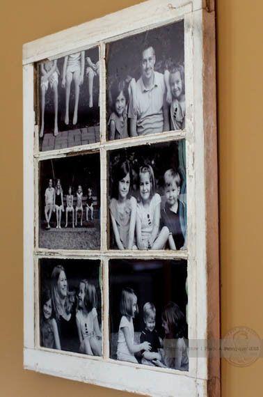 Windowpane Photo Frame