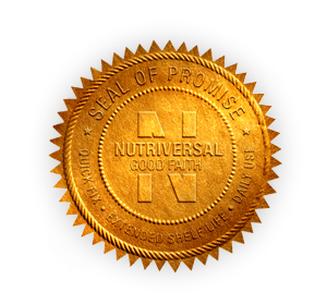 Nutriversal Seal Gold For Gofoods Global Gofoods Global Prepared Food Delicious Proved Heal Best Emergency Food Food Service Industry Emergency Food Supply