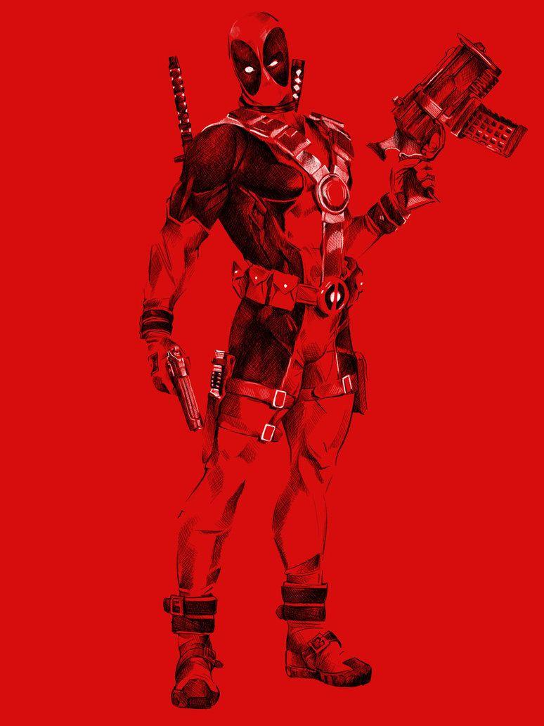 #Deadpool #Fan #Art. (DEADPOOL) By: Atomizkk. (THE * 5 * STÅR * ÅWARD * OF: * AW YEAH, IT'S MAJOR ÅWESOMENESS!!!™)[THANK U 4 PINNING!!!<·><]<©>ÅÅÅ+(OB4E)