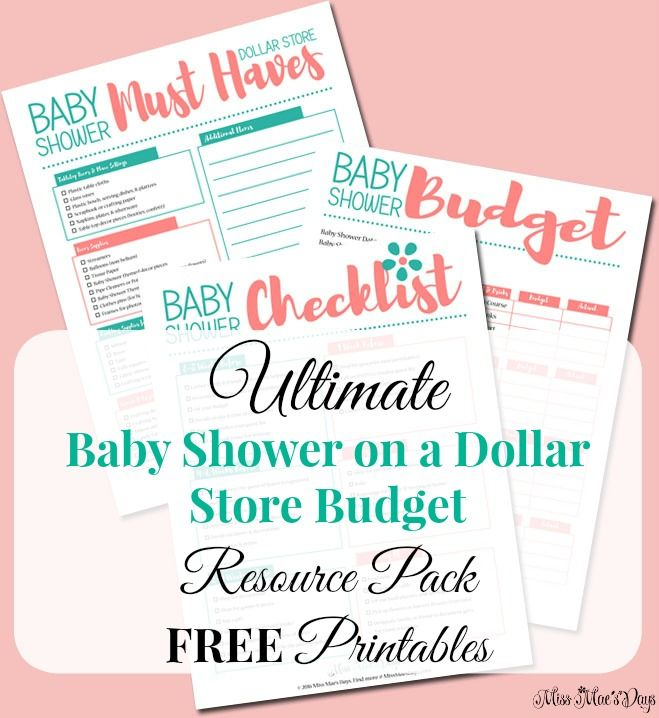 Plan A Gorgeous Baby Shower On A Dollar Store Budget Your Guests