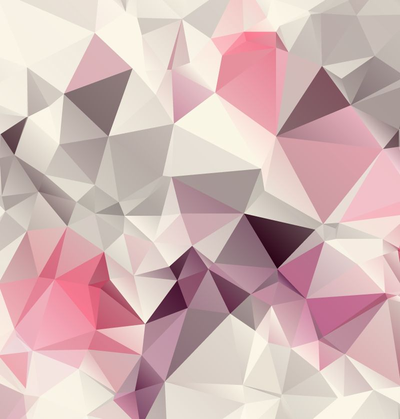Pink geometric background design vector backgrounds for Print wallpaper designs
