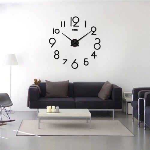 Nie wieder spät mit einer XXL Wanduhr \u2013 60 Ideen Wandgestaltung