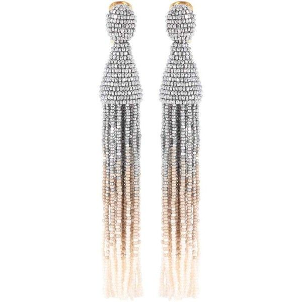 Tasseled clip-on earrings Oscar De La Renta EJq1z
