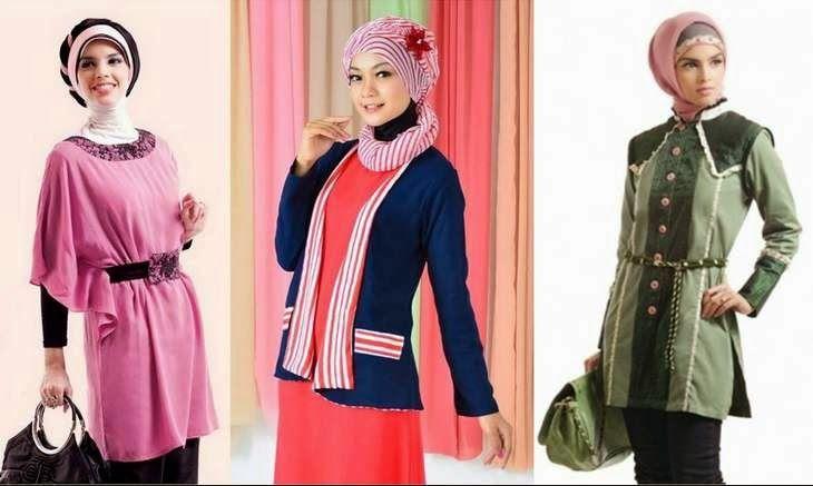 40 Gambar Desain Baju Muslim Remaja Tren 2016 Model Pakaian Baju Muslim Muslim