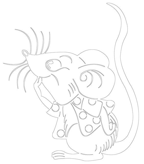 Подборка шаблонов с мышами к новому году 1   Шаблоны ...