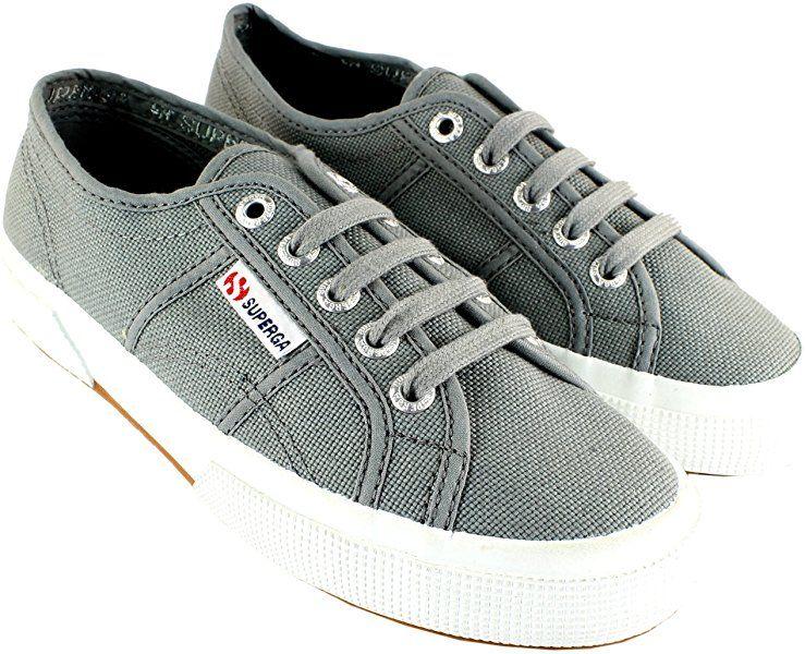 92463e0c4f1b41 Amazon.com | Superga Womens Classic Cotu Canvas Retro Plimsoll Low Top  Sneakers - White - 8 | Fashion Sneakers