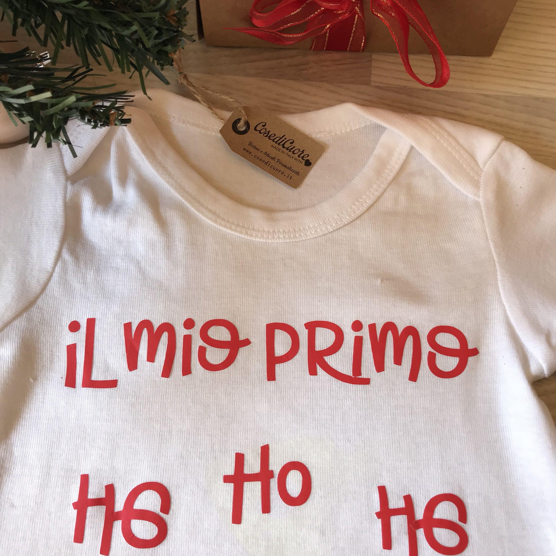 Primo Natale Body personalizzato Buon Primo Compleanno, Vestito