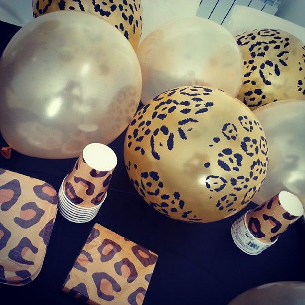 Leopard print party accessories3 My bday is next month love it
