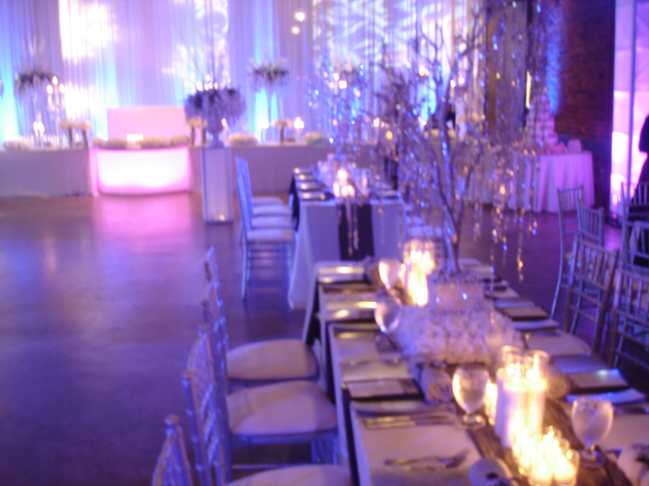 Atlanta Wedding Venue Georgia Railroad Freight Depot Winter Wonderland By Lavish Fantasy Weddings And Events