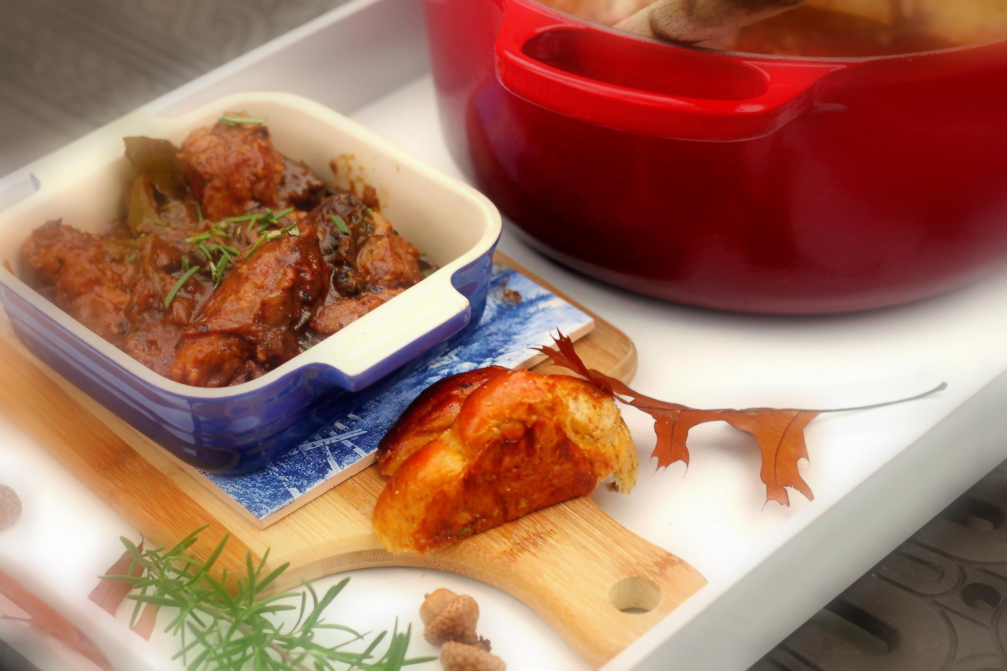 Nibbles By Nic Veal Amp Pepper Stew One Pot Wonder