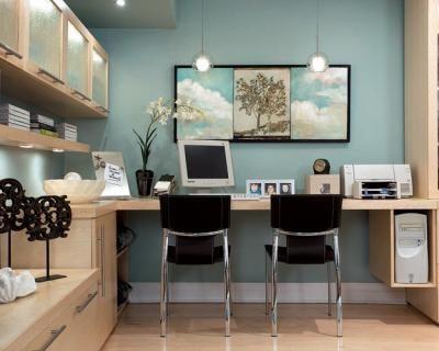 Candice Olson Office Design photographer: brandon barre designer: candice olson featured in