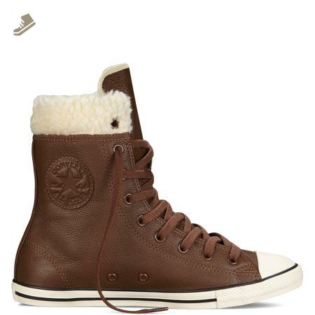Converse Women S Chuck Taylor All Star Dainty Brown Leather Xhi