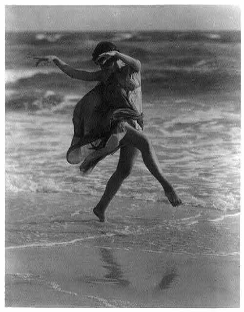 Isadora Duncan,Arnold Genthe Photographs
