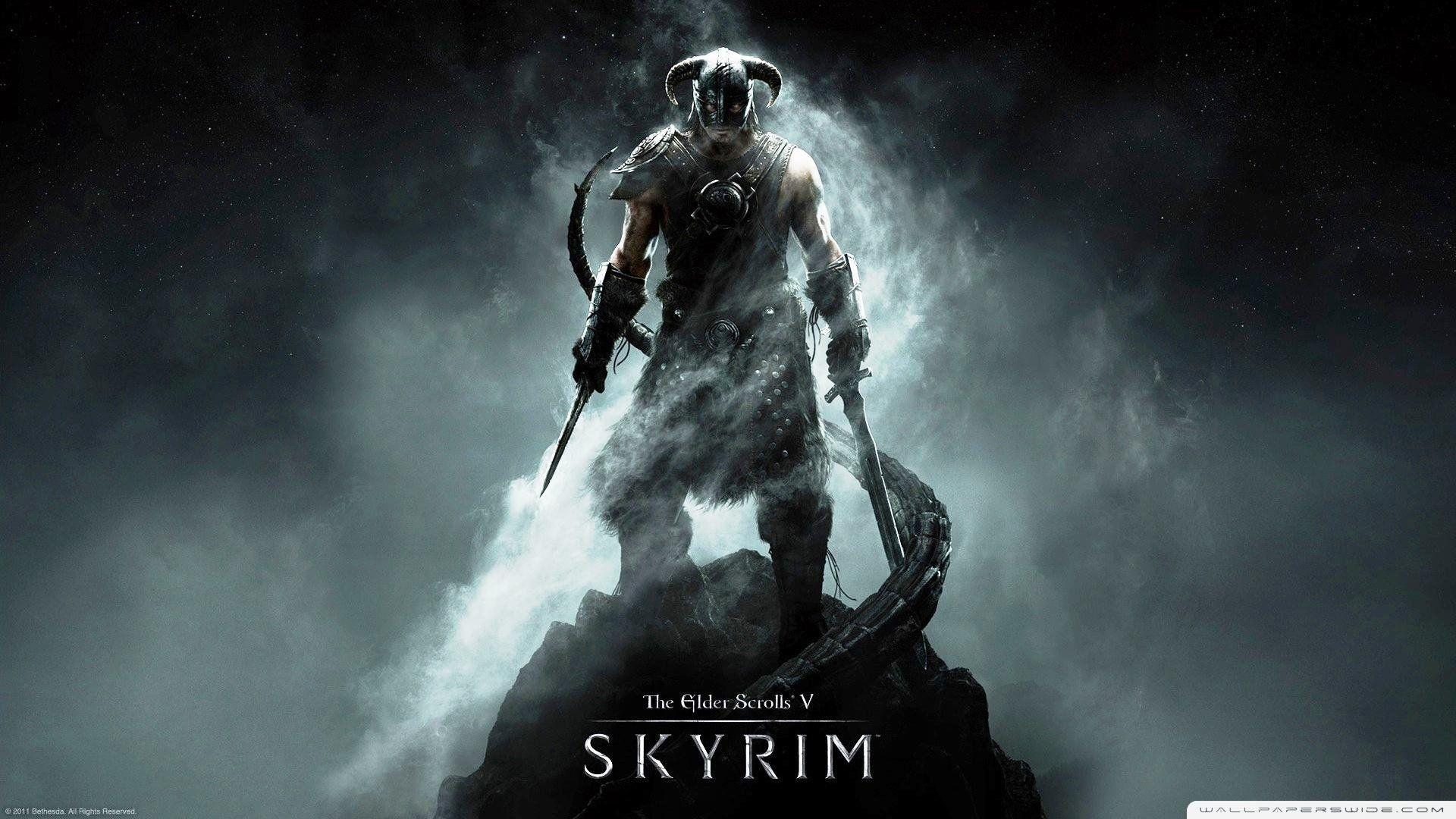 Video Game Wallpaper High Quality Resolution Skyrim Wallpaper Skyrim Elder Scrolls V Skyrim