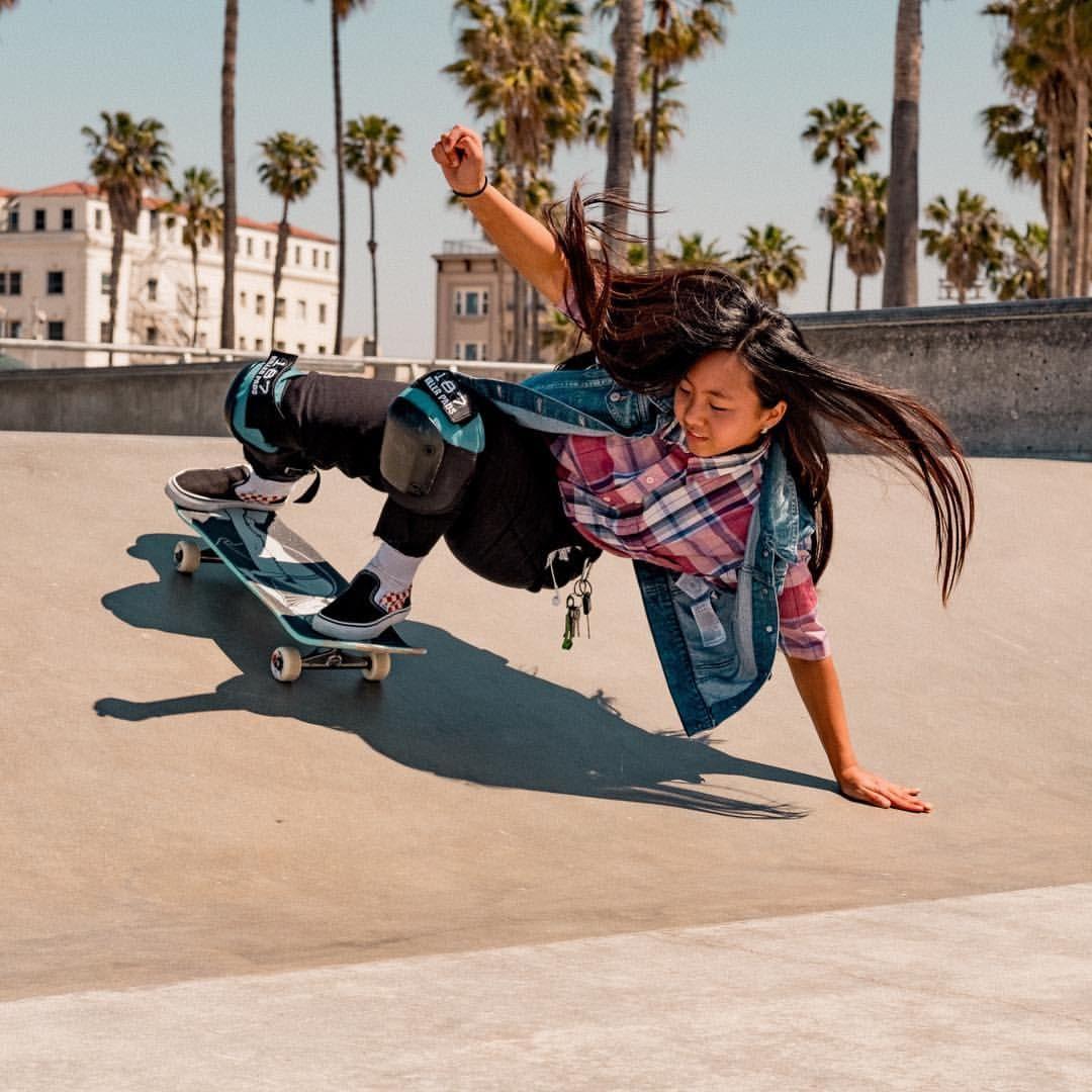 Skater Girls California Skateboarding Vintage Grlswirl With