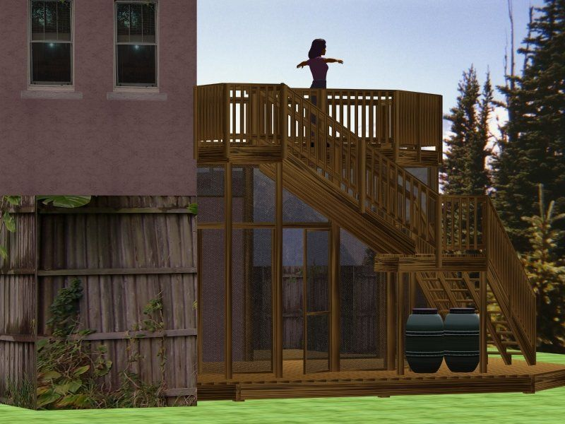 Two Story Deck Pictures Two Story Deck With Screen Porch
