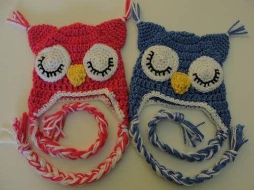 Gorros al crochet de animales patrones - Imagui
