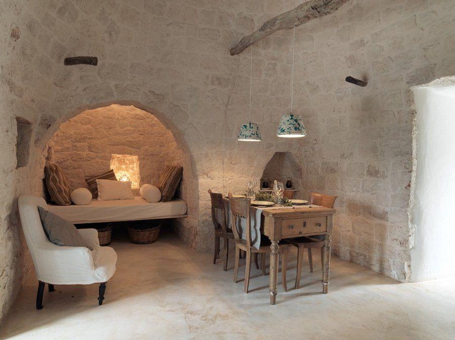 Trulli bianchemura kijk die lampen s t o n e r u for Arredamento rustico italiano
