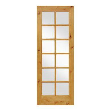 12 Lite Interior Exterior 8 0 Alder Door Wood Doors Interior Interior Doors Interior