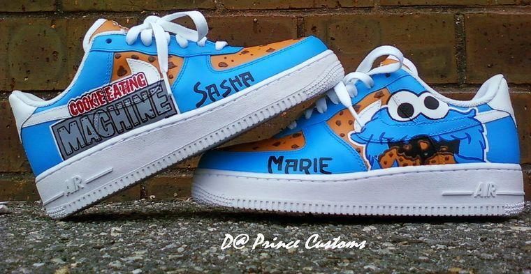 ... Sesame Street Air Force Ones Sneaker Pimping Sesame Street Pinterest ...