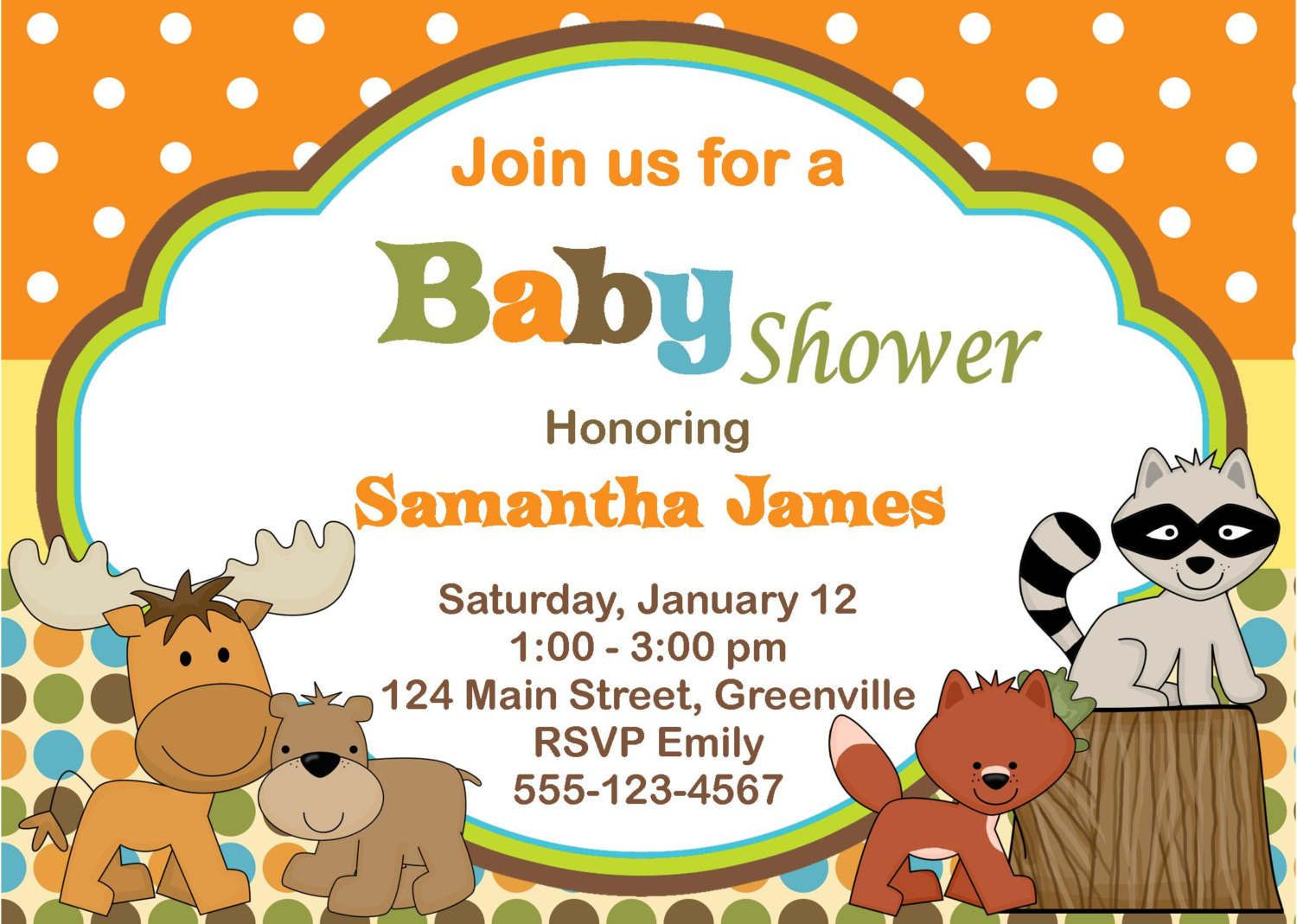farm animal baby shower invitations | ... Pictures free printable ...