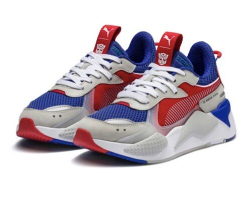 ad20adb3cf68 Details about PUMA RS-X TRANSFORMERS Pack Optimus Prime Blue Red ...