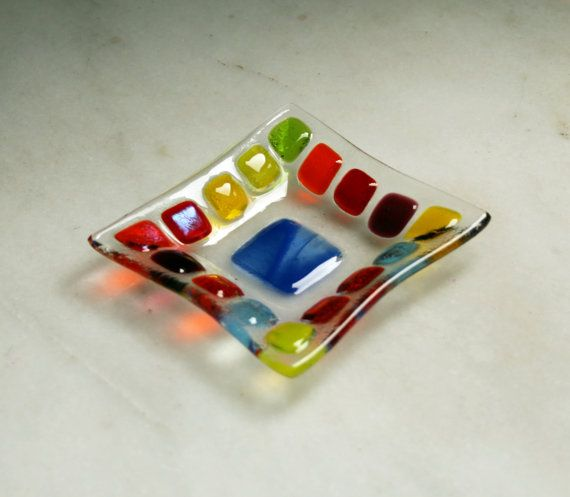 Bejewelled D2 mosaic series fused glass by StarlightAndShadows