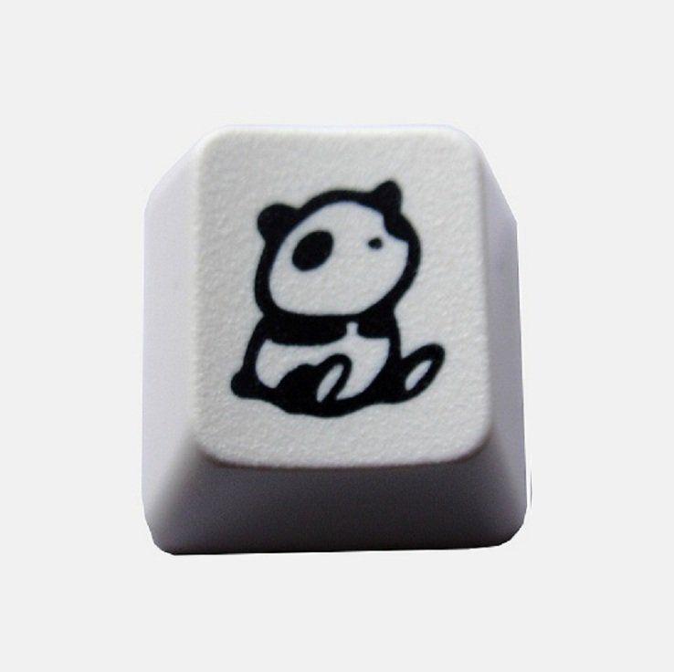 Lonely Panda Keycap   Art   Panda, Lonely