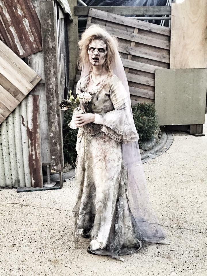 Halloween Fright Nights 2019 Walibi.Zombie Make Up By Victoria Boo For Walibi Halloween Fright