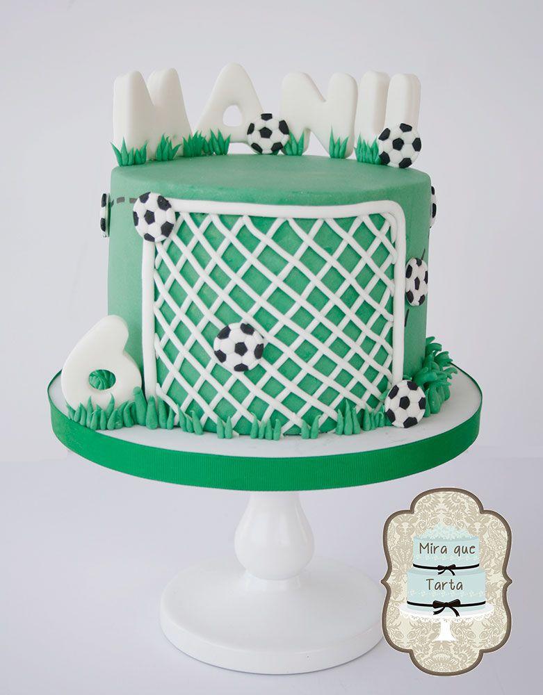 Football cake. By #miraquetarta