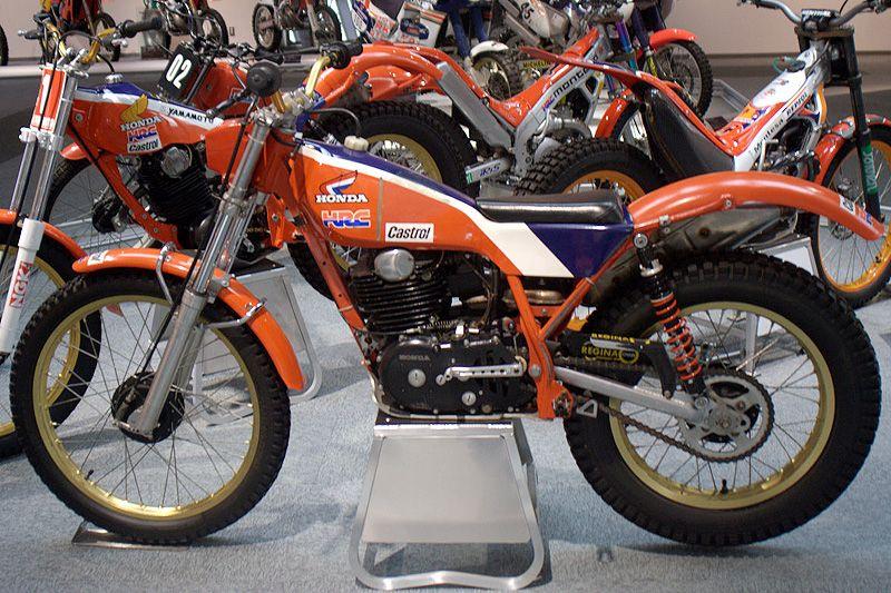 eddy lejeune s honda rs360 1984 hrc factory honda trial bike honda motorcycles pinterest